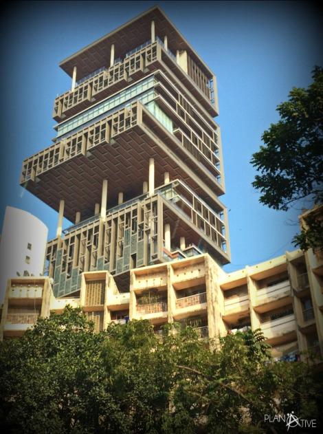 Haus von Mukesh Ambani Mumbai - Indien - (c) Planätive