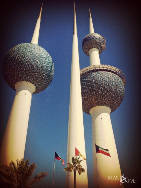 Kuwait Towers, Kuwait City - © Planätive